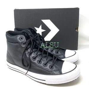Converse Ctas PC Boot High Top Leather Black Wmns